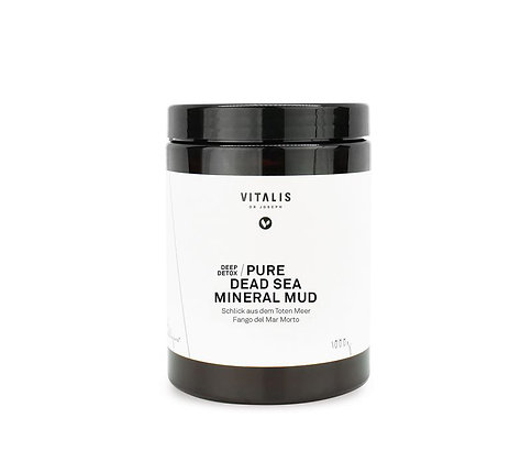 Pure Dead Sea Mineral Mud - 1000 g