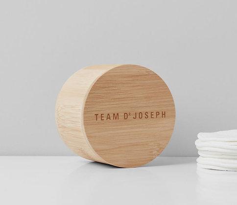 Reusable Bamboo Pads, 10Stk. Inkl. Wäschesack & Aufbewahrungsbox
