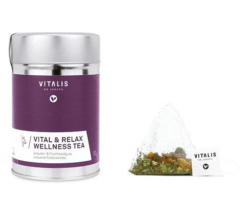 Vital & Relax Wellness Tea 12 Pyramid Filter, 30g - 1 Dose