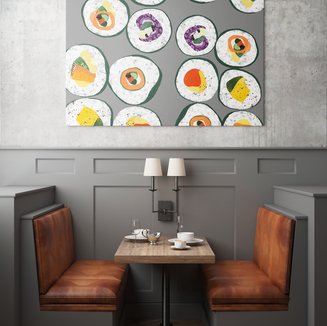 Free Download Restaurant Wall Poster Moc
