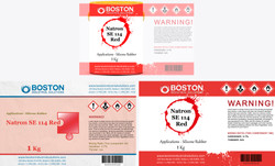 Boston Industrial Solutions Label