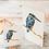 Thumbnail: Kingfisher (Cream) Mini Card