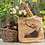 Thumbnail: Jute Bag with Stag Print