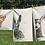 Thumbnail: Willow: Single-colour Art Print Tea Towel