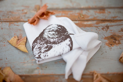Robin Tea Towel: Organic Fluffy