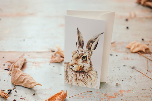 Harry the Hare Card