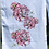 Thumbnail: Peonies: Multi-coloured Art Print Tea Towel