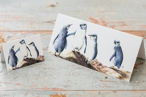 Penguins Mini Card