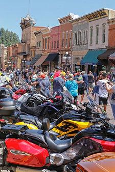 trikes on Deadwoods' Mainstreet