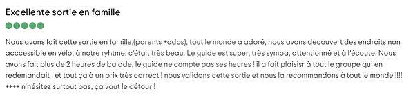 Avis en Français