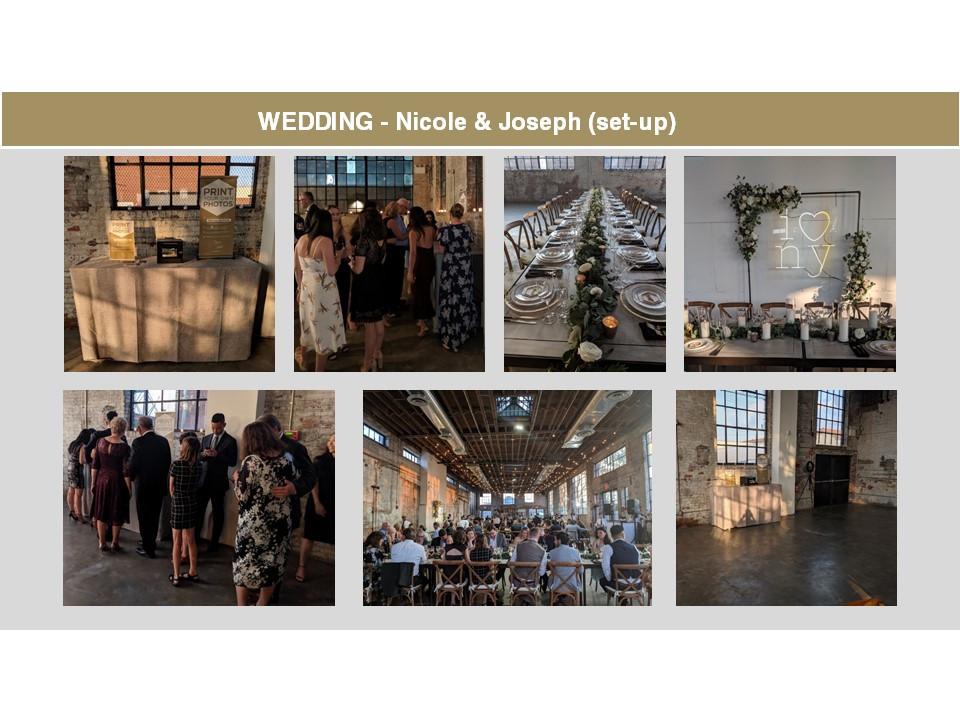 Wedding at 99 Scott in Brooklyn