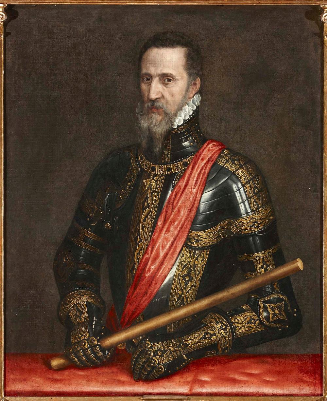 El Gran Duque de Alba, Tiziano Vecellio 1570