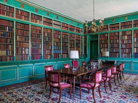 Descubre el primer tour virtual de la Biblioteca del Palacio de Liria