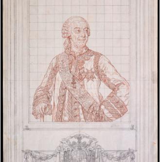 El grabado del XII Duque de Alba