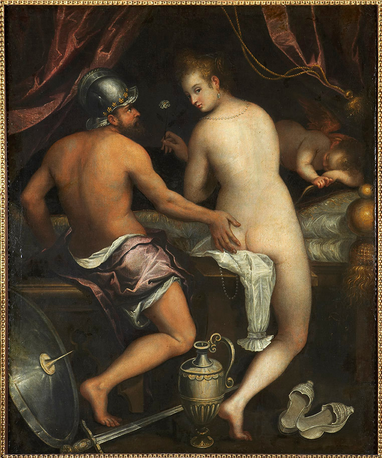 """Venus y Marte"", de Lavinia Fontana"