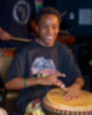 prinz at the drum.JPG