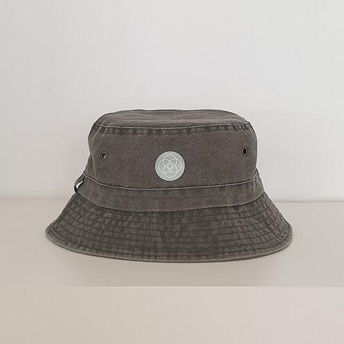 כובע איקיגאי אפור