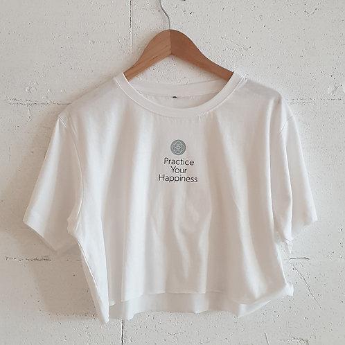 חולצת איקיגאי לבנה