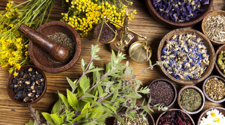 Herbs Are Not Just For Cooking