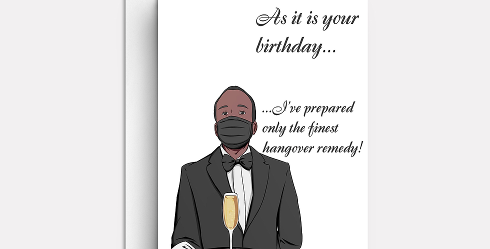 As It Is Your Birthday...
