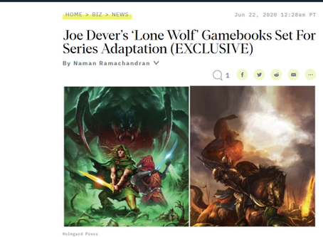 Official Lone Wolf press announcement