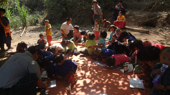 A Brief History of the Children Ministry among the Lisu ancestor worshipers Living in Maing Hsu area