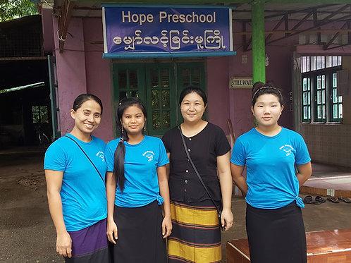 Preschool Evangelist (Myanmar)