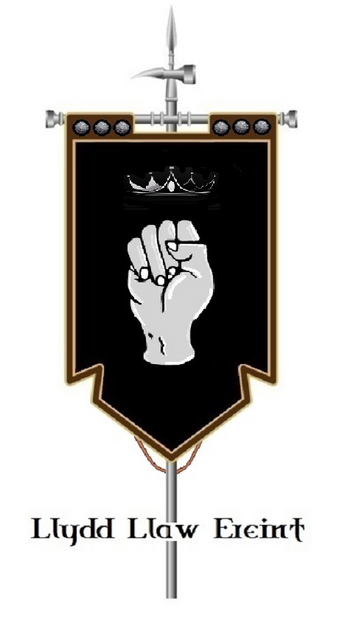 The Banner of Lludd Llaw Ereint