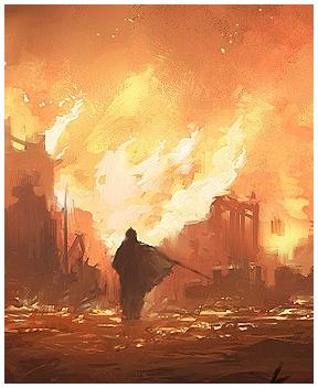 Draenwen is burning!
