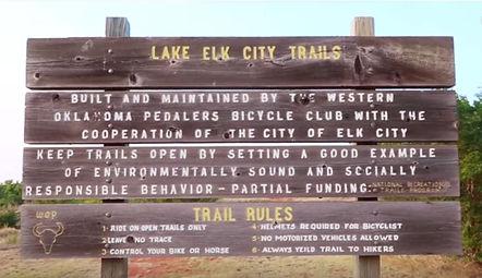 Elk City Park Trail sign.JPG