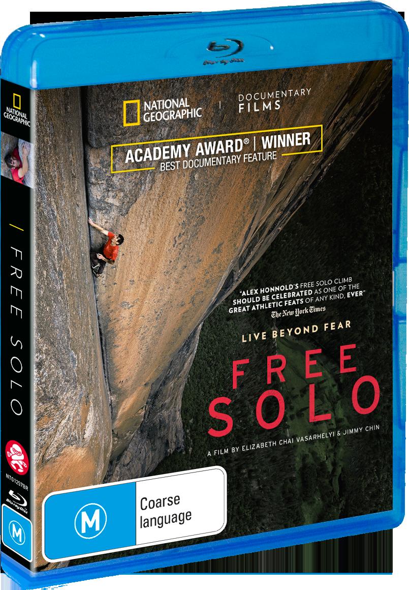 Free Solo BluRay