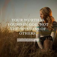 worth God opinions others