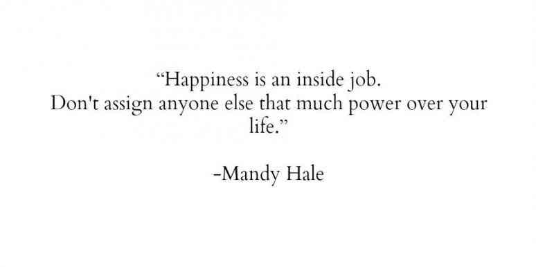 happiness yourself