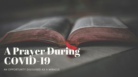 A Prayer During COVID-19