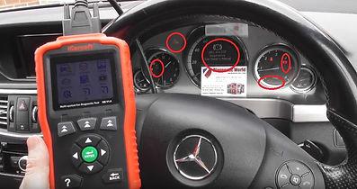 Mercedes E Class W212 Abs Esp Fault Codes
