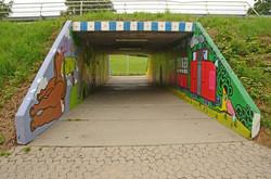Tunnel art Workshop – Public space