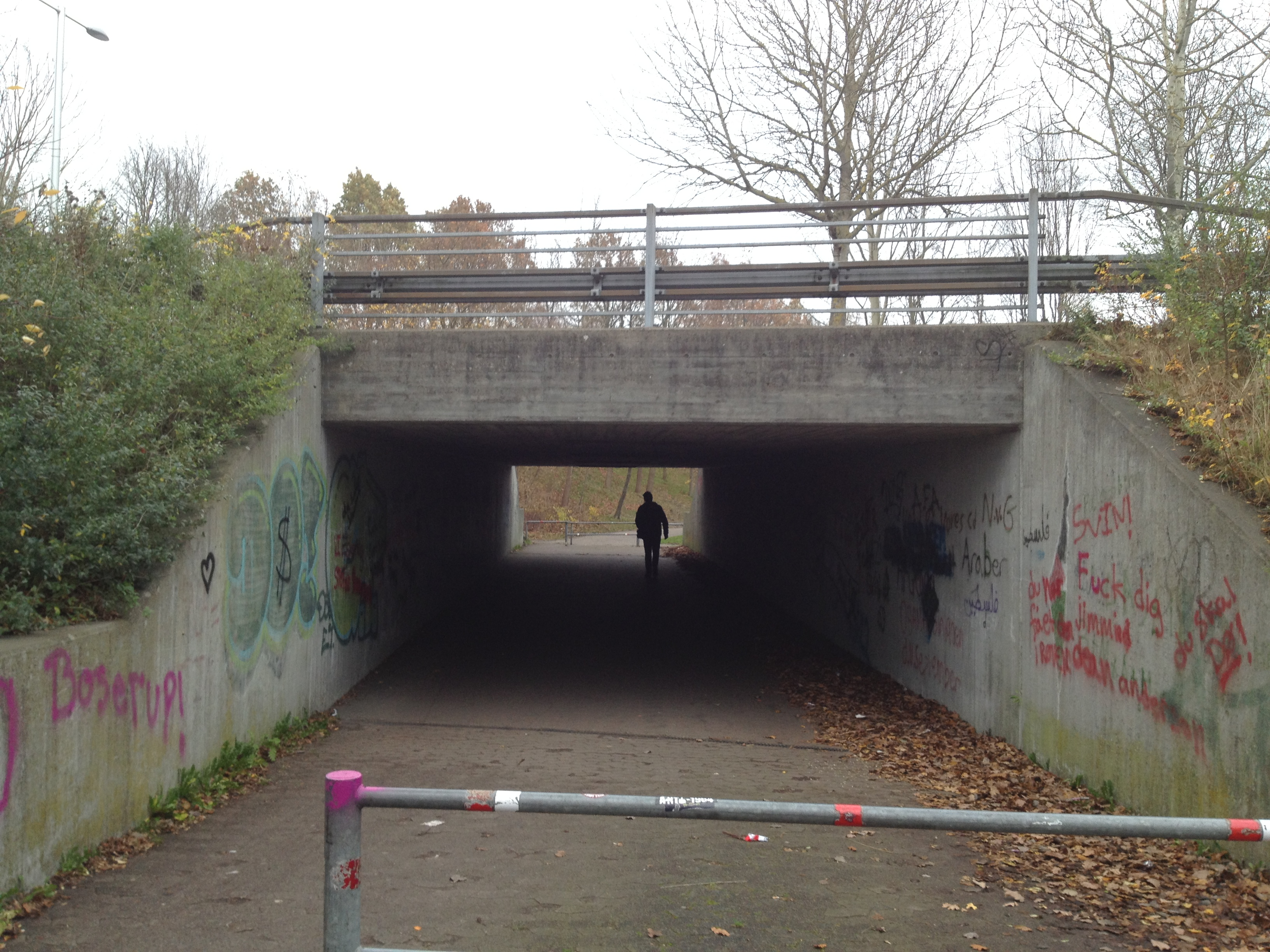 Tunnel art Workshop – Public space
