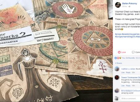 Dwarvenaut Stefan Pokorny endorses Arcane Scrollworks