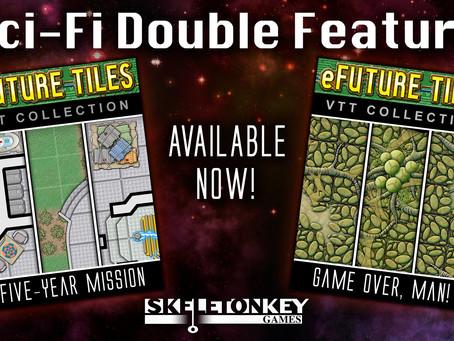 eFuture Tiles: Sci-Fi Double Feature