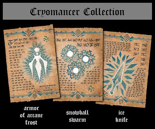 Cryomancer Scroll Collection