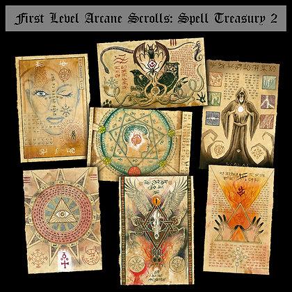 First Level Arcane Scrolls: Spell Treasury II