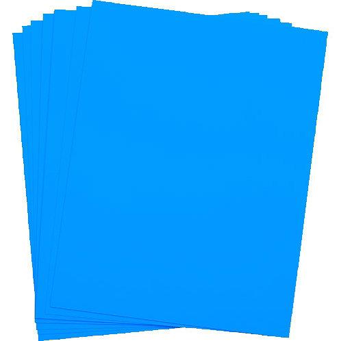.014 Light Blue Matte/Matte KR-Indigo Vinyl 12X18 - 100 sheets