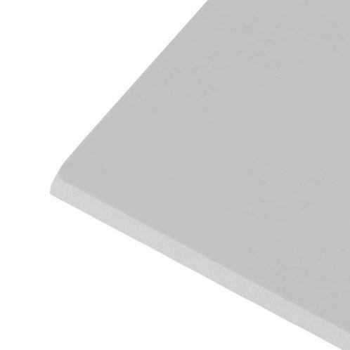 .120 (3 millimeter) White Komatex 24X48 - 50 sheets