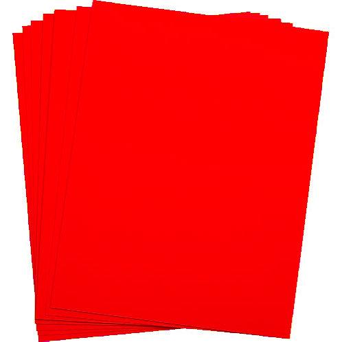 .005 Red Matte/Matte KR-Toner Polyester 8.5X11 - 100 sheets