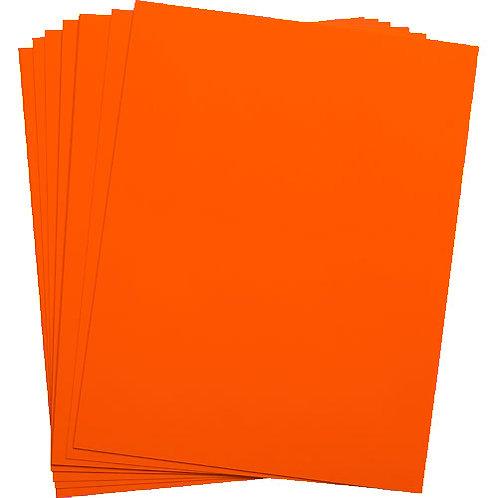 .005 Orange Matte/Matte KR-Toner Polyester 8.5X11 - 100 sheets