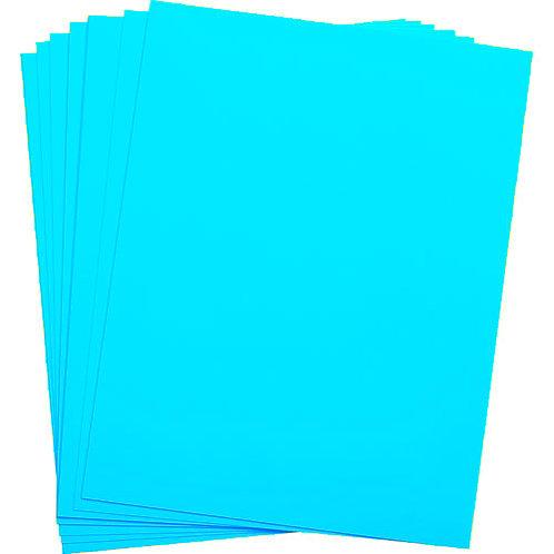 .005 Teal Matte/Matte KR-Toner Polyester 8.5X11 - 100 sheets