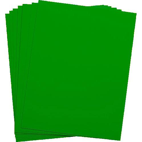 .005 Bright Green Matte/Matte KR-Toner Polyester 8.5X11 - 100 sheets