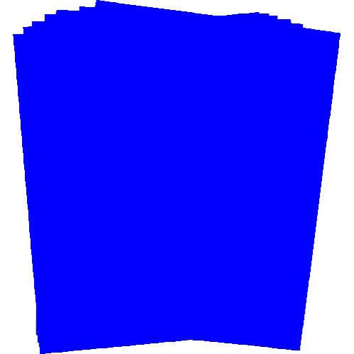 .005 Royal Blue Matte/Matte KR-Toner Polyester 8.5X11 - 100 sheets