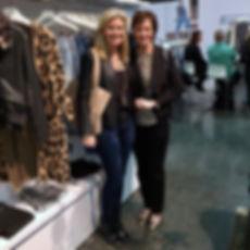 Buyers Kristin Ernst and Gretchen Richards