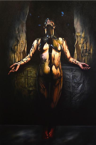 Dead god coming into human flesh